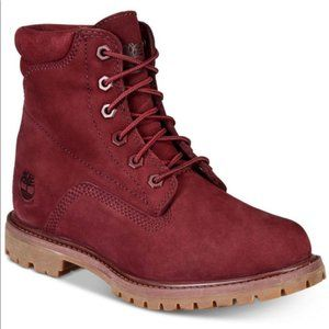 Timberland Waterville Burgundy Boots Winter Boots